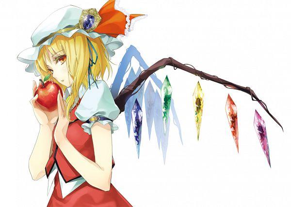 Tags: Anime, Tsurukame, Touhou, Flandre Scarlet, Fanart From Pixiv, PNG Conversion, Fanart, Pixiv