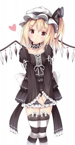 Tags: Anime, Shiero, Touhou, Flandre Scarlet, PNG Conversion, Pixiv, Mobile Wallpaper, Fanart From Pixiv, Fanart