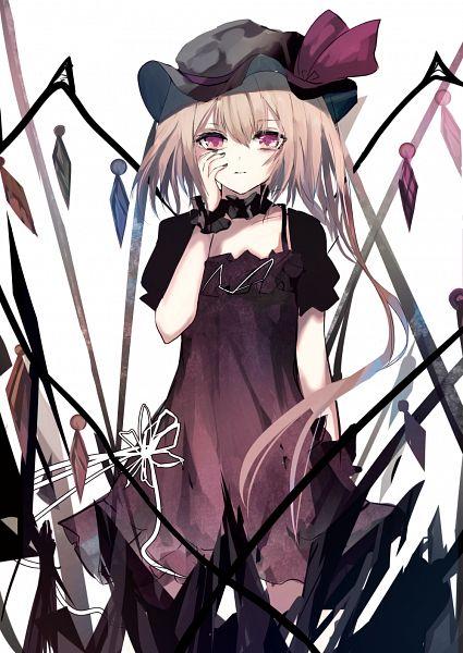 Tags: Anime, GreeN (greeen_jp), Touhou, Flandre Scarlet, Frilled Cuffs, Fanart, Fanart From Pixiv, Pixiv