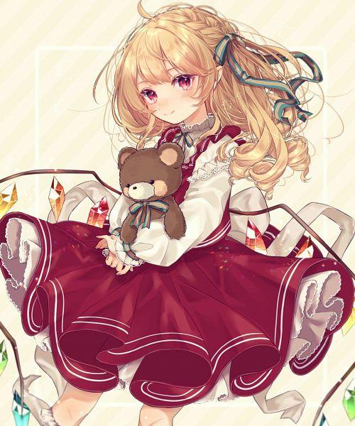 Tags: Anime, Pixiv Id 27497372, Touhou, Flandre Scarlet, Pixiv, Fanart, Fanart From Pixiv