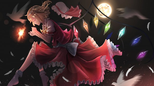 Tags: Anime, Pixiv Id 12064216, Touhou, Flandre Scarlet, Wallpaper, Fanart From Pixiv, Fanart, Pixiv