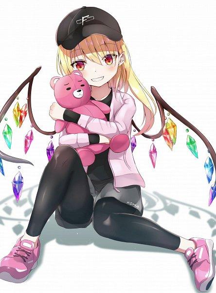 Tags: Anime, Pixiv Id 6965885, Touhou, Flandre Scarlet, Pink Jacket, Pixiv, Fanart From Pixiv, Fanart