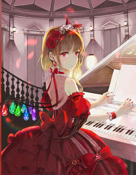 Tags: Anime, Pixiv Id 801811, Touhou, Flandre Scarlet, Fanart, Fanart From Pixiv, Pixiv
