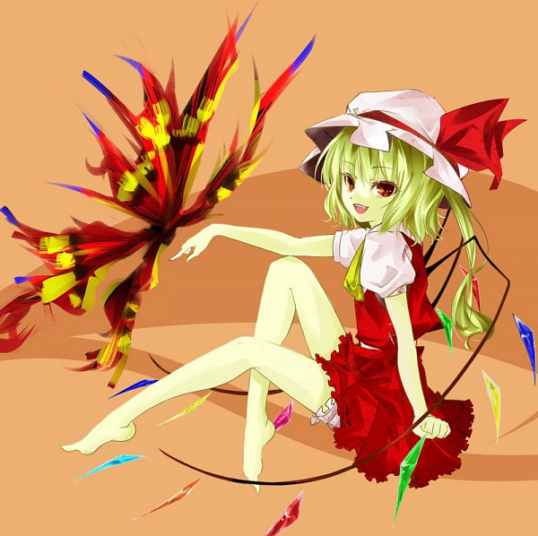 Tags: Anime, Tsurukame, Touhou, Flandre Scarlet