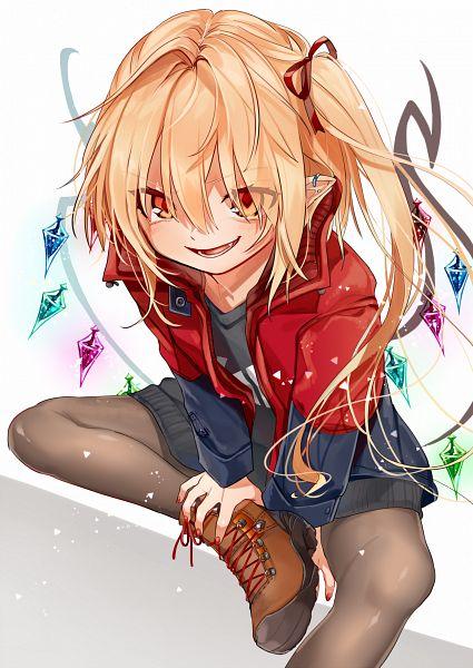 Tags: Anime, Gotoh, Touhou, Flandre Scarlet, Mobile Wallpaper, Fanart, Fanart From Pixiv, Pixiv
