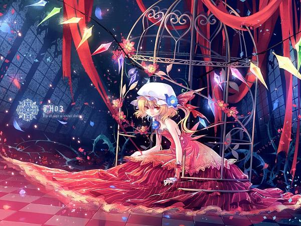 Tags: Anime, Kieta, Touhou, Flandre Scarlet, Brambles, Fanart From Pixiv, Fanart, Pixiv