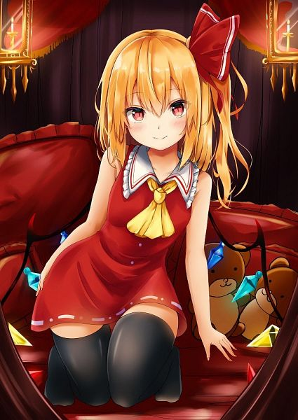 Tags: Anime, Renka (cloudsaikou), Touhou, Flandre Scarlet, Fanart, Fanart From Pixiv, Pixiv