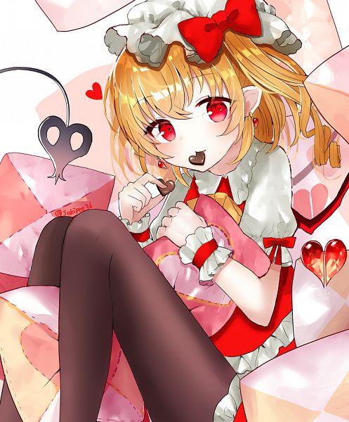 Tags: Anime, sakipsakip, Touhou, Flandre Scarlet, Fanart, Fanart From Pixiv, Pixiv