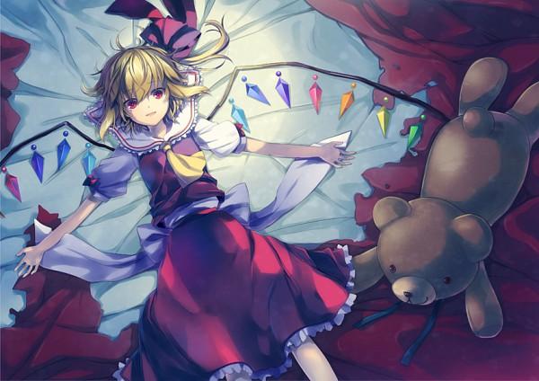 Tags: Anime, 6U☆, Touhou, Flandre Scarlet, Pixiv