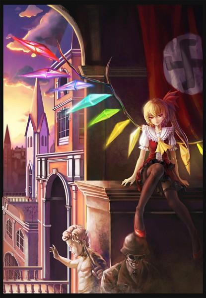 Tags: Anime, Klamp, Touhou, Flandre Scarlet