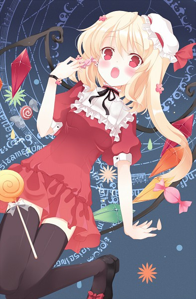 Tags: Anime, Liong, Touhou, Flandre Scarlet, Mobile Wallpaper