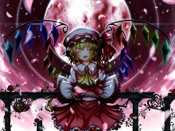 Tags: Anime, UGUME, Touhou, Flandre Scarlet, Red Moon