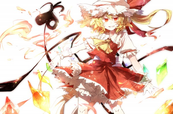 Tags: Anime, Hisona, Touhou, Flandre Scarlet, Laevatein, Pixiv, Fanart