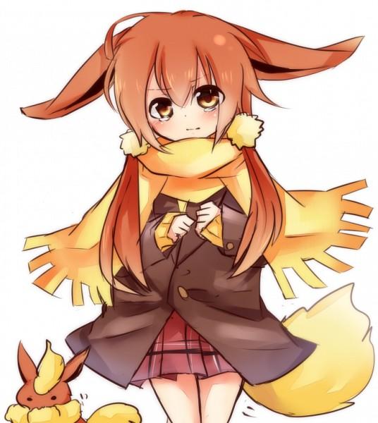 Tags: Anime, Aya Usagi, Pokémon, Flareon