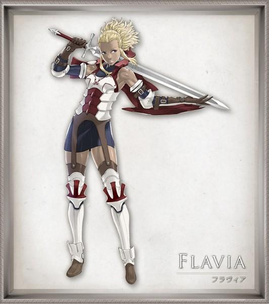 Flavia - Fire Emblem: Kakusei