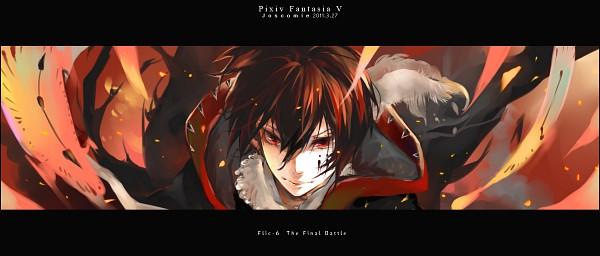 Tags: Anime, Josco, Flic-6, Pixiv, Pixiv Fantasia Ⅴ, Original, Pixiv Fantasia Series, Facebook Cover