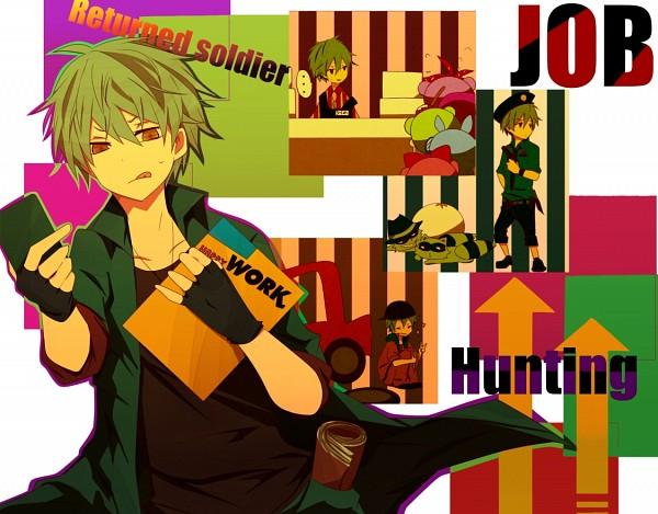 Tags: Anime, Kurita Bear, Happy Tree Friends, Shifty, Sniffles (HTF), Lifty, Flaky, Nutty, Flippy, Giggles (HTF), Toothy (HTF), Work, Fanart