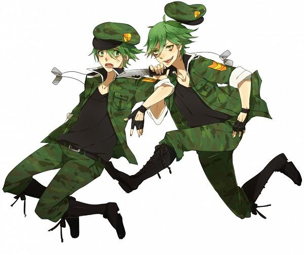 Tags: Anime, Asuda (Pixiv468135), Happy Tree Friends, Flippy, Pixiv