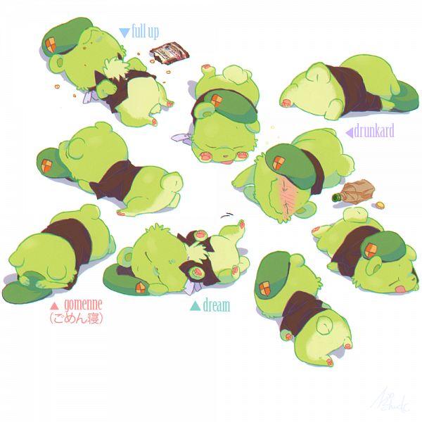 Tags: Anime, KAB00M CHUCK, Happy Tree Friends, Flippy, Pixiv, Fanart From Pixiv, Fanart