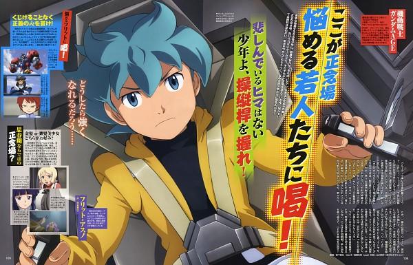 Flit Asuno - Kidou Senshi Gundam AGE