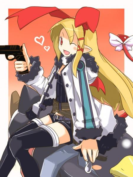Tags: Anime, Nippon Ichi Software, Makai Senki Disgaea, Flonne, Prinny, Asagiri Asagi (Cosplay)