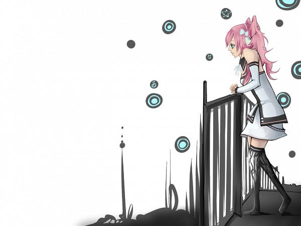 Tags: Anime, VOCALOID, Megurine Luka, Fanart, Fluticasone