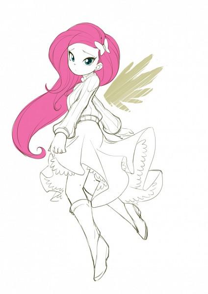 Tags: Anime, Jorama, My Little Pony, Fluttershy, Fanart, Fanart From DeviantART, Mobile Wallpaper, deviantART