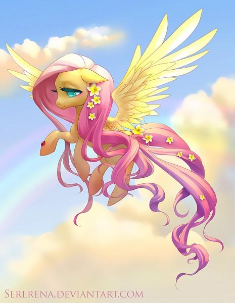 Tags: Anime, Serena Samborski, My Little Pony, Fluttershy, Ladybug, deviantART, Fanart From DeviantART, Fanart