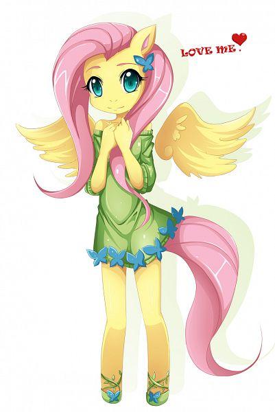 Tags: Anime, Lovemimi, My Little Pony, Fluttershy, Pony, Mobile Wallpaper, deviantART, Fanart From DeviantART, Fanart