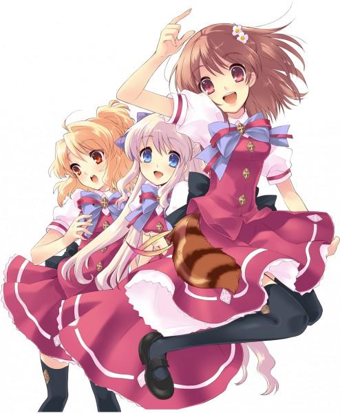 Tags: Anime, Ito Noizi, Flyable Heart, Inaba Yui, Sakurako Minase, Sumeragi Amane