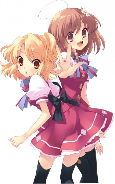 Tags: Anime, Ito Noizi, Flyable Heart, Sumeragi Amane, Inaba Yui