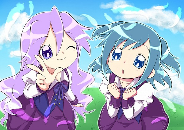 Tags: Anime, Imahia, Pretty Cure Fan Series, Flyaway Precure, Amatouge Kohane, Isora Hekiru, Fanart From Pixiv, Pixiv, Fanart