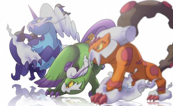 Tags: Anime, Pixiv Id 677207, Pokémon, Tornadus, Landorus, Thundurus, Legendary Pokémon, Forces of Nature