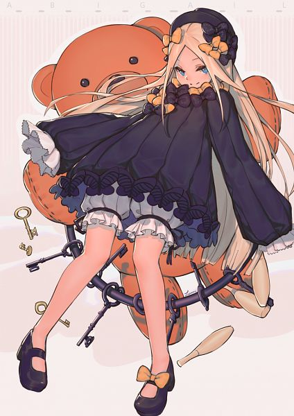 Tags: Anime, Pixiv Id 16233751, Fate/Grand Order, Foreigner (Abigail Williams)