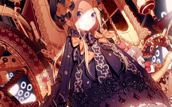 Tags: Anime, Atha (Pixiv3367474), Fate/Grand Order, Foreigner (Abigail Williams), Wallpaper