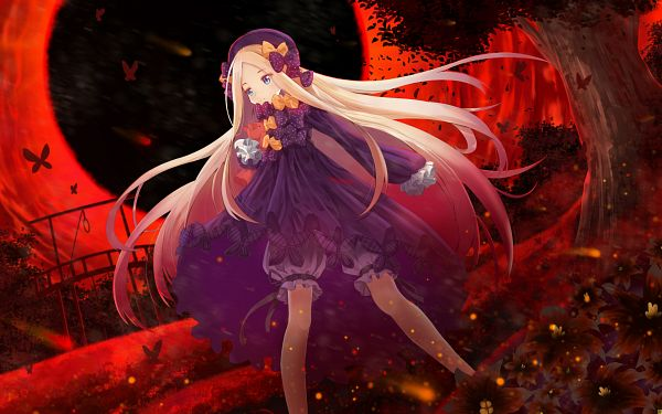 Tags: Anime, Pixiv Id 22007303, Fate/Grand Order, Foreigner (Abigail Williams), Wallpaper