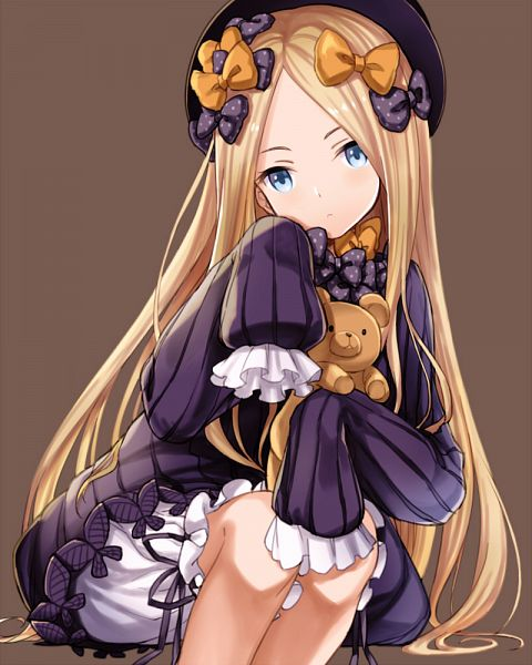 Tags: Anime, Pixiv Id 5358003, Fate/Grand Order, Foreigner (Abigail Williams), Hugging Toy, Wallpaper