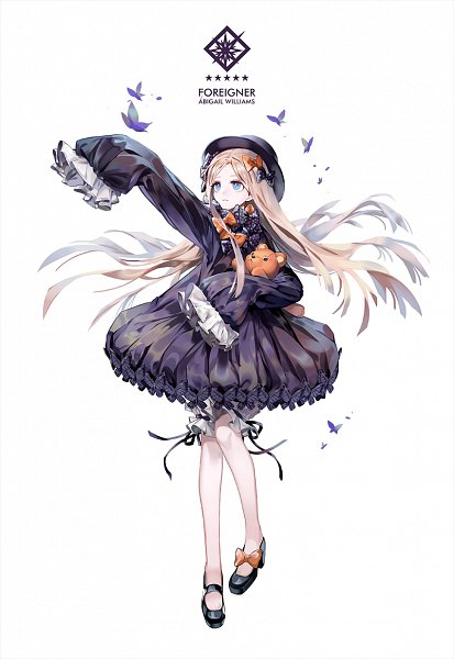 Tags: Anime, Pixiv Id 41486455, Fate/Grand Order, Foreigner (Abigail Williams), Fanart, Mobile Wallpaper, Fanart From Pixiv, Pixiv