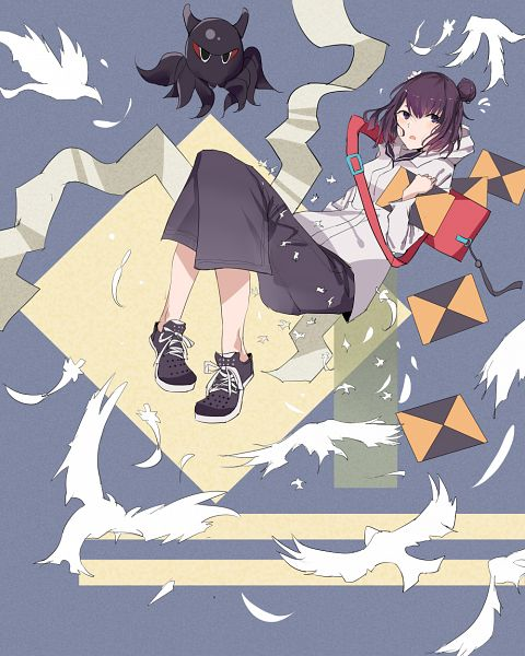 Tags: Anime, Pixiv Id 29351299, Fate/Grand Order, Foreigner (Katsushika Hokusai), Fanart From Pixiv, Heroic Spirit Traveling Outfit, Pixiv, Fanart