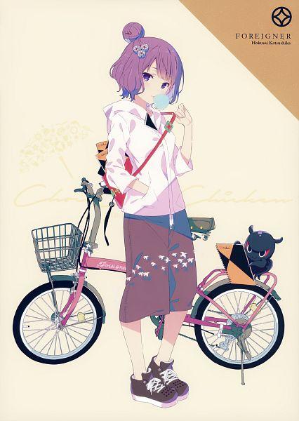 Tags: Anime, QP:flapper, Ohara Tometa, Choco Chip Chicken, Fate/Grand Order, Foreigner (Katsushika Hokusai), Heroic Spirit Traveling Outfit, Scan