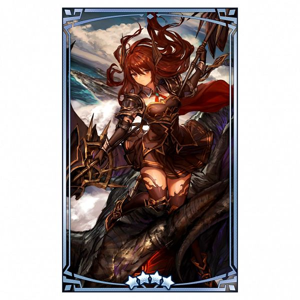 Tags: Anime, LM7, Nintendo, Cygames, Dragalia Lost, Forte (Shingeki no Bahamut), Official Art, Official Card Illustration