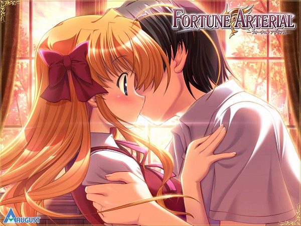 Tags: Anime, Bekkankou, August (Studio), Fortune Arterial, Sendou Erika, Hasekura Kouhei, CG Art
