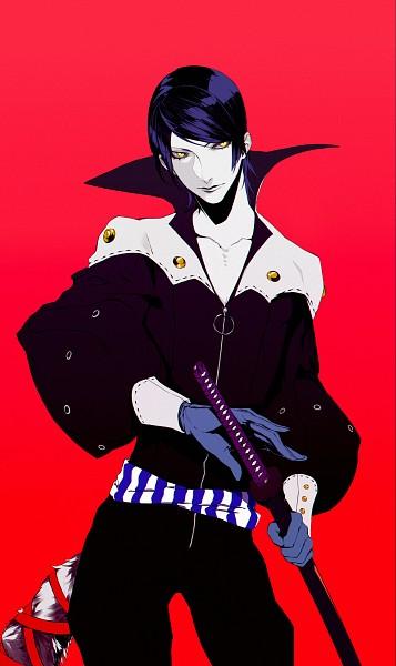 Tags: Anime, Pixiv Id 2210298, Shin Megami Tensei: PERSONA 5, Fox (Persona 5), Kitagawa Yuusuke, Pixiv, Fanart, Fanart From Pixiv