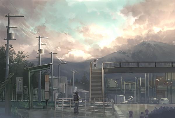 Tags: Anime, Fo~Do, Gray Sky, Pixiv, Original