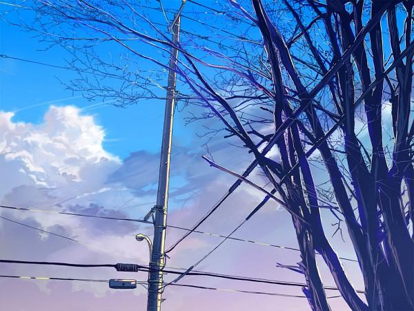 Tags: Anime, Fo~Do, Utility Pole, Pixiv