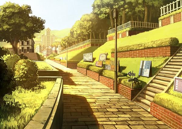 Tags: Anime, Fo~Do, Park, No Character, Pixiv, Original