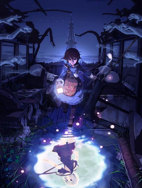 Tags: Anime, Namco, Fragile: Sayonara Tsuki no Haikyo, Seto (Fragile), Ren (Fragile)