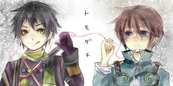 Tags: Anime, Namco, Fragile: Sayonara Tsuki no Haikyo, Seto (Fragile), Seto (Needless), Crow (Fragile), Facebook Cover