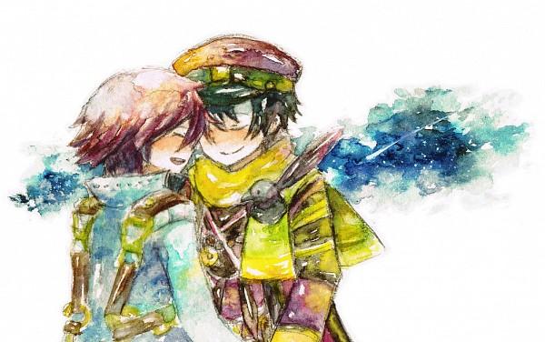 Tags: Anime, Namco, Fragile: Sayonara Tsuki no Haikyo, Crow (Fragile), Seto (Fragile)