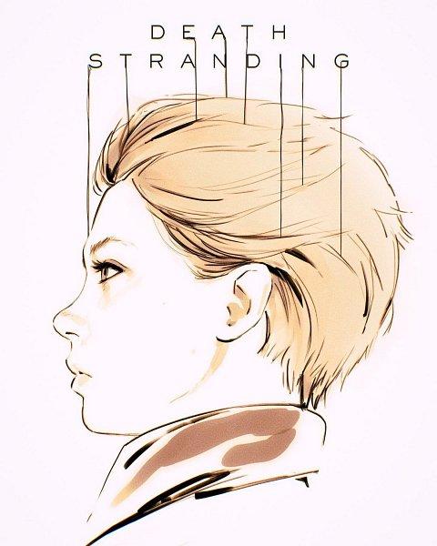 Tags: Anime, Ilya Kuvshinov, Death Stranding, Fragile (Death Stranding), Fanart, Instagram